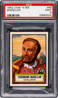 Non-Sport Cards:General, 1952 Topps Look 'N See Magellan #48 PSA Mint 9 - None Higher. ...