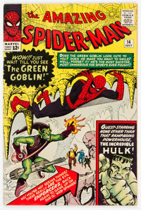 The Amazing Spider-Man #14 (Marvel, 1964) Condition: Apparent FN+