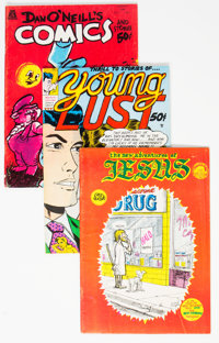 Underground Comic Group of 73 (Various Publishers, 1969-80s) Condition: Average VF.... (Total: 73 )