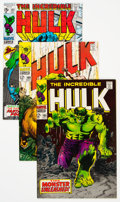 Silver Age (1956-1969):Superhero, The Incredible Hulk Group of 6 (Marvel, 1968-71) Condition...