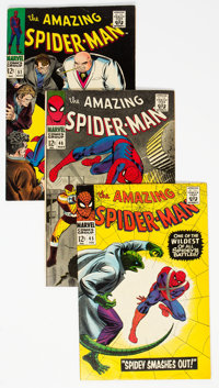 The Amazing Spider-Man Group of 14 (Marvel, 1967-68) Condition: Average FN-.... (Total: 14 Comic Books)