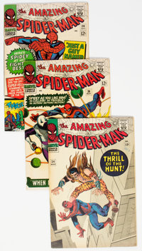 The Amazing Spider-Man #34 and 36-38 Group (Marvel, 1966) Condition: Average FN.... (Total: 4 Comic Books)