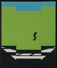 Allan D'Arcangelo (1930-1998) Highway and Landscape I and II, from 11 Pop Artists Volume
