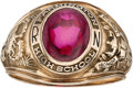 Football Collectibles:Others, 1961 Ralph Neely High School Class Ring....