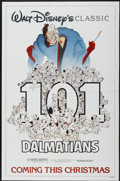 "Movie Posters:Animated, 101 Dalmatians (Buena Vista, R-1985). One Sheet (27"" X 41"") Advance. Animated...."