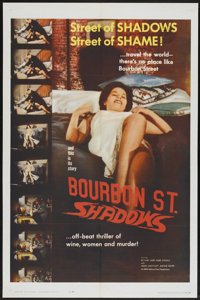 "Bourbon Street Shadows (Republic, 1962). One Sheet (27"" X 41""). Action"