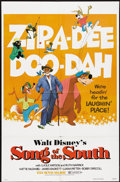 """Movie Posters:Animated, Song of the South (Buena Vista, R-1980). One Sheet (27"""" X 41"""").Animated...."""