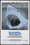 """Movie Posters:Documentary, Blue Water, White Death (National General, R-1974). One Sheet (27"""" X 41""""). Documentary...."""