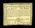 Colonial Notes:New Jersey, New Jersey June 9, 1780 $1 Very Fine-Extremely Fine....