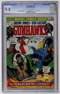 Bronze Age (1970-1979):Western, Gunhawks #5 (Marvel, 1973) CGC NM/MT 9.8 Off-white to white pages....