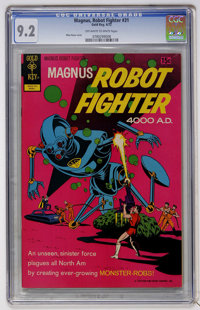 Magnus Robot Fighter #31 (Gold Key, 1972) CGC NM- 9.2 Off-white to white pages