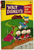 Bronze Age (1970-1979):Cartoon Character, Walt Disney's Comics and Stories #381 (Gold Key, 1972) Condition:FN....