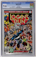 Bronze Age (1970-1979):Adventure, Logan's Run #2 (Marvel, 1977) CGC NM+ 9.6 White pages....