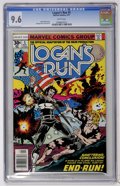 Bronze Age (1970-1979):Adventure, Logan's Run #5 (Marvel, 1977) CGC NM+ 9.6 White pages....