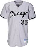 Autographs:Jerseys, 1998 Frank Thomas Chicago White Sox Team Issued Signed Jersey....