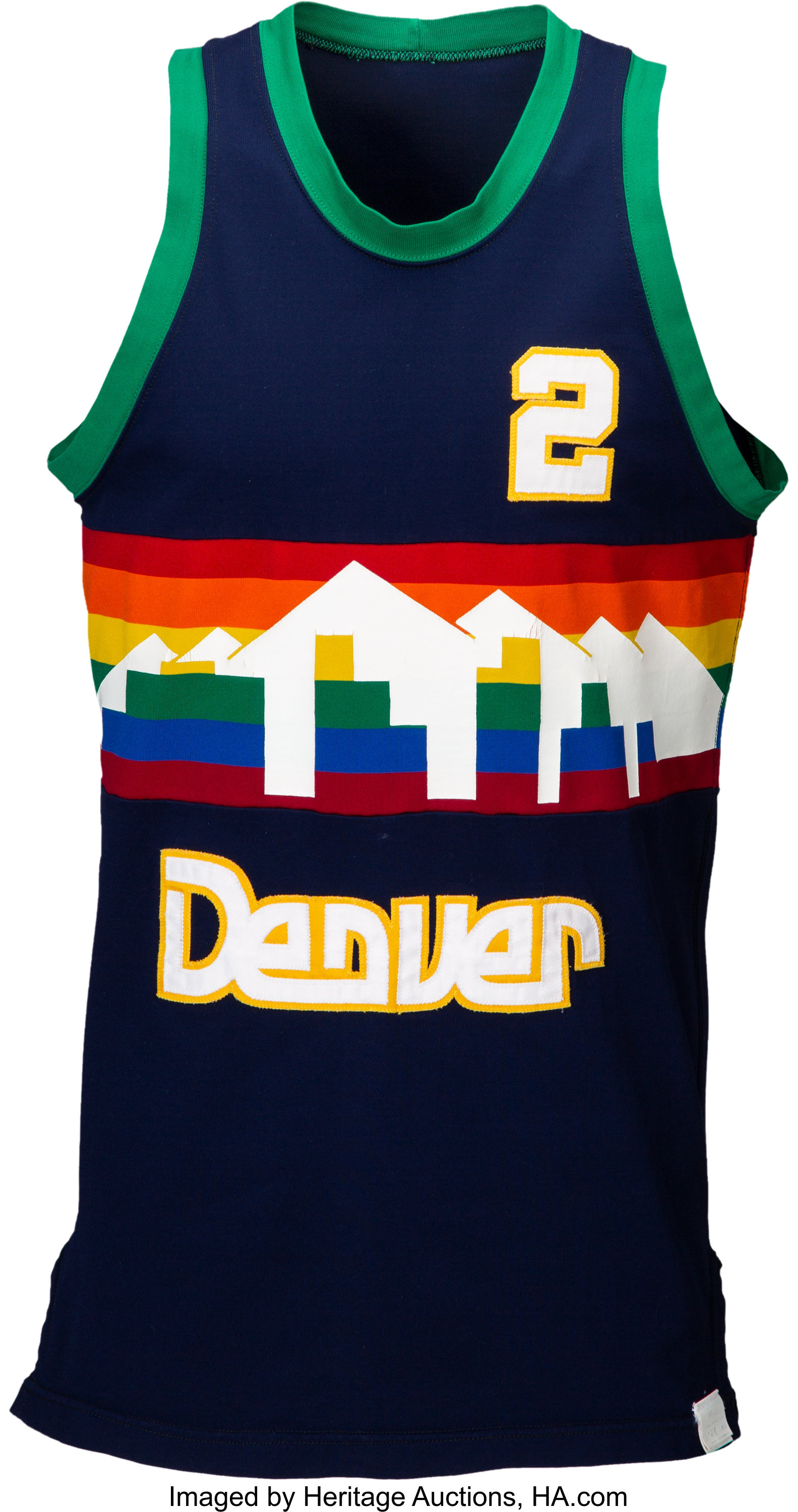 Nuggets Jersey History