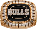 Baseball Collectibles:Others, 1991-92 Chicago Bulls NBA Championship Ring....