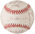 Autographs:Baseballs, 1997 New York Yankees Team Signed Baseball (20 Signatures)....