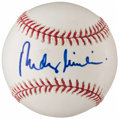 Autographs:Baseballs, Rudy Giuliani Single Signed Baseball....