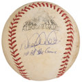 "Autographs:Baseballs, 1998 Derek Jeter ""1st All-Star Game"" Single Signed & Game Used All-Star Game Baseball...."