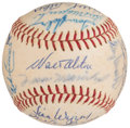 Autographs:Baseballs, 1967 National League All-Stars Team Signed Baseball (26 Signatures)....