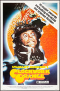 "Movie Posters:Science Fiction, A Clockwork Orange (Warner Brothers, R-1982) Rolled, Very Fine-. One Sheet (27"" X 41""). Philip Castle Artwork. Science Ficti..."