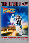 """Movie Posters:Science Fiction, Back to the Future (Universal, 1985) Rolled, Very Fine. SoundtrackPoster (23"""" X 34.5""""). Drew Struzan Artwork. Science Ficti..."""