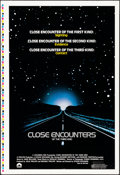 """Movie Posters:Science Fiction, Close Encounters of the Third Kind (Columbia, 1977) Rolled, Very Fine+. Printer's Proof One Sheet (28"""" X 41""""). Science Ficti..."""