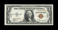 Small Size:World War II Emergency Notes, Fr. 2300* $1 1935A Hawaii Silver Certificate. Gem CrispUncirculated.. ...