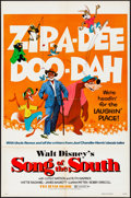 """Movie Posters:Animation, Song of the South (Buena Vista, R-1973) Folded, Very Fine-. OneSheet (27"""" X 41""""). Animation...."""
