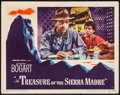"""Movie Posters:Film Noir, The Treasure of the Sierra Madre (Warner Brothers, 1948) Fine/VeryFine. Lobby Card (11"""" X 14""""). Film Noir. From the Colle..."""