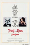 "Movie Posters:Comedy, Sleeper (United Artists, 1974) Folded, Very Fine-. One Sheet (27"" X 41"") Advance & Australian Daybill (13.5"" X 30""). Comedy.... (Total: 2 Items)"