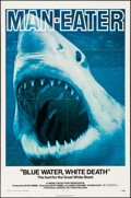 """Movie Posters:Documentary, Blue Water, White Death (National General, 1971) Folded, Very Fine. One Sheet (27"""" X 41""""). Documentary...."""