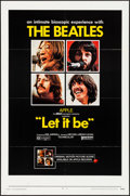 """Movie Posters:Rock and Roll, Let It Be (United Artists, 1970) Folded, Very Fine. One Sheet (27""""X 41""""). Rock and Roll...."""