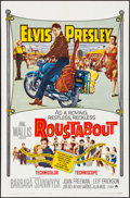 """Movie Posters:Elvis Presley, Roustabout (Paramount, 1964) Folded, Very Fine. One Sheet (27"""" X41""""). Elvis Presley...."""