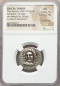 Ancients:Greek, Ancients: CILICIA. Tarsus. Pharnabazus, as Satrap (ca. 380-374/3 BC). AR stater (24mm, 10.70 gm, 11h). NGC AU 5/5 - 4/5, light scratches...