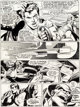 "Neal Adams and Dick Giordano All-New Collectors' Edition #C-56 ""Superman vs. Muhammad Ali"" Page 52 Original Ar..."