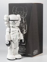 KAWS (b. 1974) Stormtrooper, 2008 Painted cast vinyl 9-3/4 x 4-1/2 x 3 inches (24.8 x 11.4 x 7.6