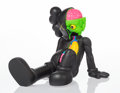 Collectible, KAWS (b. 1974). Resting Place Companion (Black), 2013. Painted cast vinyl. 8-1/2 x 9 x 11-1/2 inches (21.6 x 22.9 x 29.2...