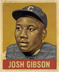 """Baseball Collectibles:Others, 2018 Josh Gibson 1948 Leaf """"Card That Never Was"""" Original Artwork by Arthur Miller. ..."""