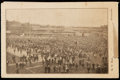 Autographs:Post Cards, 1907 New York Giants Postcard Schedule with Foldout Player Photographs....
