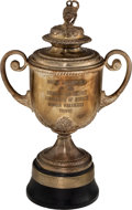 Golf Collectibles:Miscellaneous, 1939 PGA Championship Wanamaker Trophy Presented to Henry Picard....