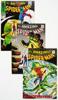 Silver Age (1956-1969):Superhero, The Amazing Spider-Man Group of 18 (Marvel, 1968-69) Condition: Average FN-.... (Total: 18 Comic Books)