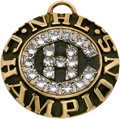Hockey Collectibles:Others, 1976-77 Montreal Canadiens Stanley Cup Champions Pendant. ...