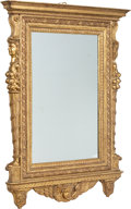Furniture : Continental, An Italian Baroque-Style Carved Giltwood Mirror, 19th century. 89-1/4 x 52-1/2 x 3-1/2 inches (226.7 x 133.4 x 8.9 cm). ...