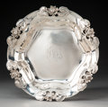 Silver Holloware, American:Bowls, A Shreve & Co. Water Lily Pattern Silver Bowl, SanFrancisco, California, early 20th century . Marks: SHREVE&...