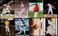 Autographs:Photos, Baseball Greats & Hall of Famers Signed Photograph Lot of 16....