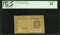 Colonial Notes:New York, New York August 13, 1776 $10 PCGS Extremely Fine 45.. ...