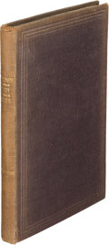 Books:Travels & Voyages, Richard F[rancis]. Burton. Falconry in the Valley of the Indus. London: John van Voorst, 1852. First edition, limite...