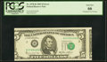Error Notes:Miscellaneous Errors, Misaligned Face Printing Error Fr. 1978-B $5 1985 Federal Reserve Note. PCGS Gem New 66.. ...